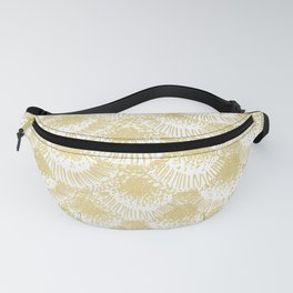 Gold Coral Fanny Pack