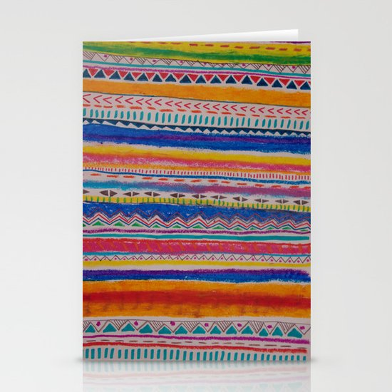 TRIBAL CRAYON / Stationery Cards
