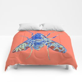 Tiger Bee Fly 2 Comforters