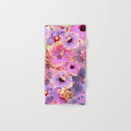Tropical hibiscus patterns Flower Floral Flowers Hand & Bath Towel