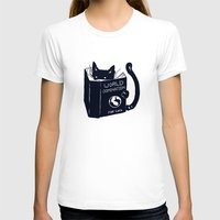 T-shirts featuring World Domination For Cats by Tobe Fonseca