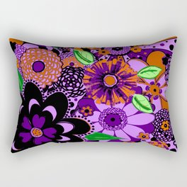 Flowers To Go Rectangular Pillow