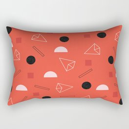 Geometric Life Rectangular Pillow