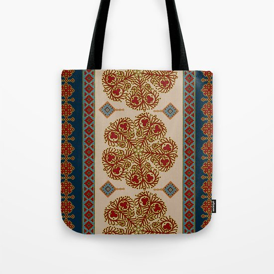 Flower pattern #0243 Tote Bag