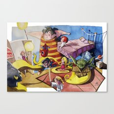 Friends´s meeting Canvas Print