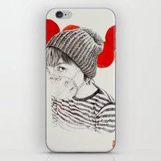 MASK + LANTERNS iPhone & iPod Skin