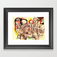 3figures Framed Art Print