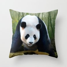 The Giant Panda Throw Pillow