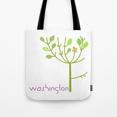 Washington Tree Tote Bag