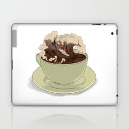 Mocha Surfer Laptop & iPad Skin