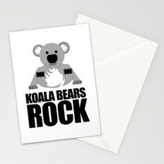 Koala Bears Rock Stationery Cards