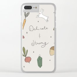 Delicate and strong Clear iPhone Case