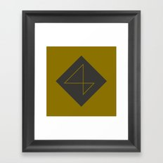 365 Days of Type - 4 Framed Art Print