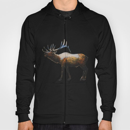 The Rocky Mountain Elk Hoody