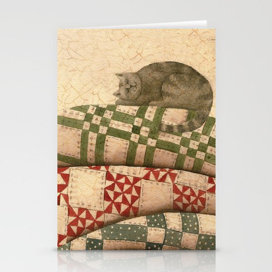 Cat Nap Stationery Cards