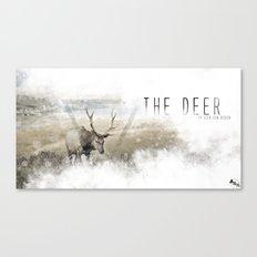 The Deer II Canvas Print