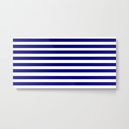 Marinière mariniere Metal Print