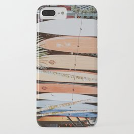 lets surf ii iPhone Case