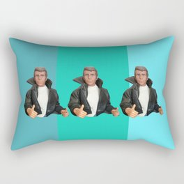Cool Points - cool colors Rectangular Pillow