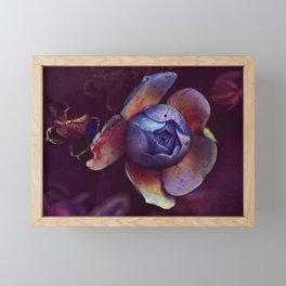 Music of flower Framed Mini Art Print