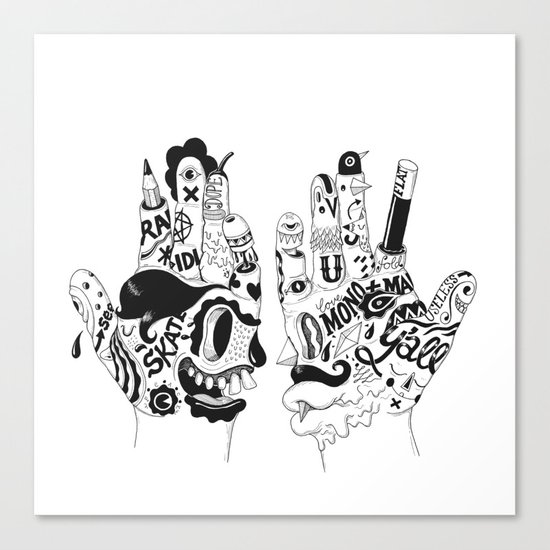 Ono Digitalis Canvas Print