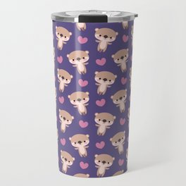 Kawaii otters Travel Mug