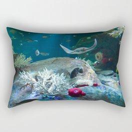 Sting Ray Rectangular Pillow