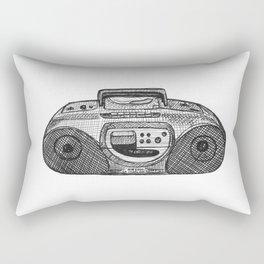 Radio Rectangular Pillow
