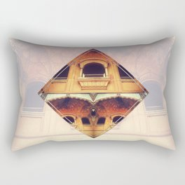Ancient windows to other dimensions Rectangular Pillow