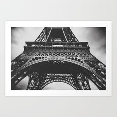 Under  the tower Art Print