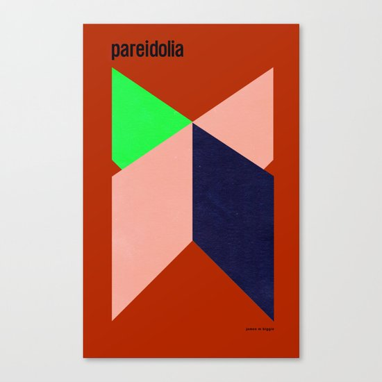 Pareidolia Canvas Print