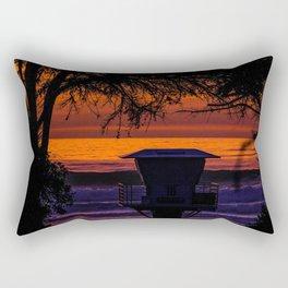 Tower 16 Sunset Rectangular Pillow