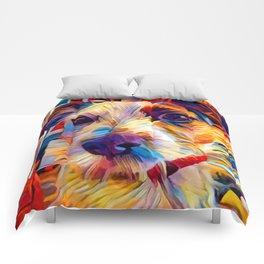 Jack Russell Terrier 2 Comforters