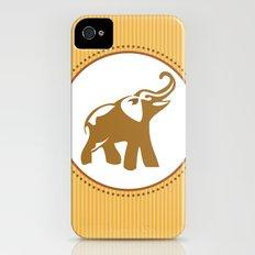 Elephant Print Slim Case iPhone (4, 4s)