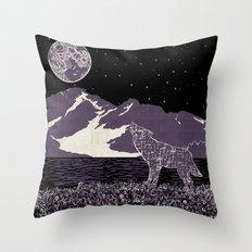 Wolf 1 Throw Pillow