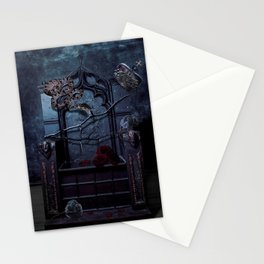 Upon My Liar's Chair Stationery Cards