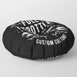 Full Throttle Floor Pillow