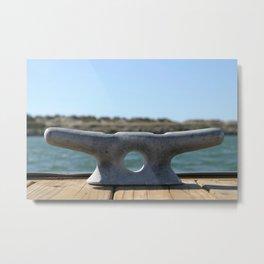 Dock Cleats Metal Print