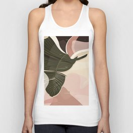 Nomade I. Illustration Unisex Tank Top