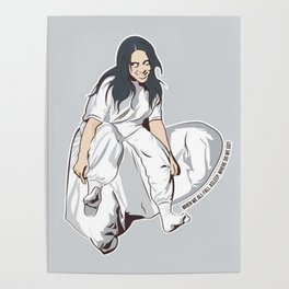 Lovely Billie Eilish Poster