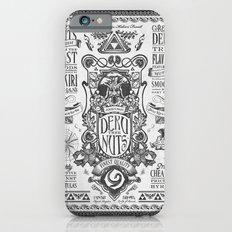 Legend of Zelda inspired Deku Nuts Vintage Advertisement iPhone 6 Slim Case
