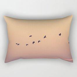 Pájaros Rectangular Pillow