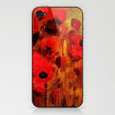 FLOWERS - Poppy reverie iPhone & iPod Skin