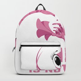 Shrimpin is not easy I Pink design and Gift for Girls Backpack