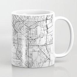 Milan Map Line Coffee Mug