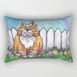 Animal Parade Ginger Cat Rectangular Pillow