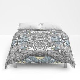 OLD JUNIPER BLACK AND WHITE VINTAGE Comforters