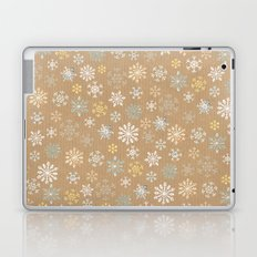 snow flakes pattern Laptop & iPad Skin