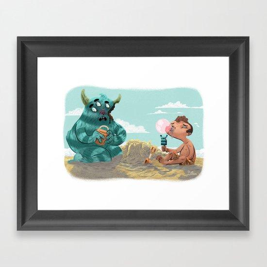 Death of the Imagination Framed Art Print