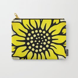 Save the Bees Design Four Carry-All Pouch
